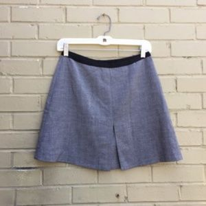 H&M Grey Tweed Skirt